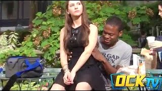 Repeat youtube video Extreme Sitting On People Prank! (GIRLS EDITION)