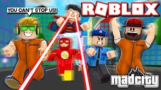BESTE CRIMINALS IN TOWN / ROBLOX MAD CITY