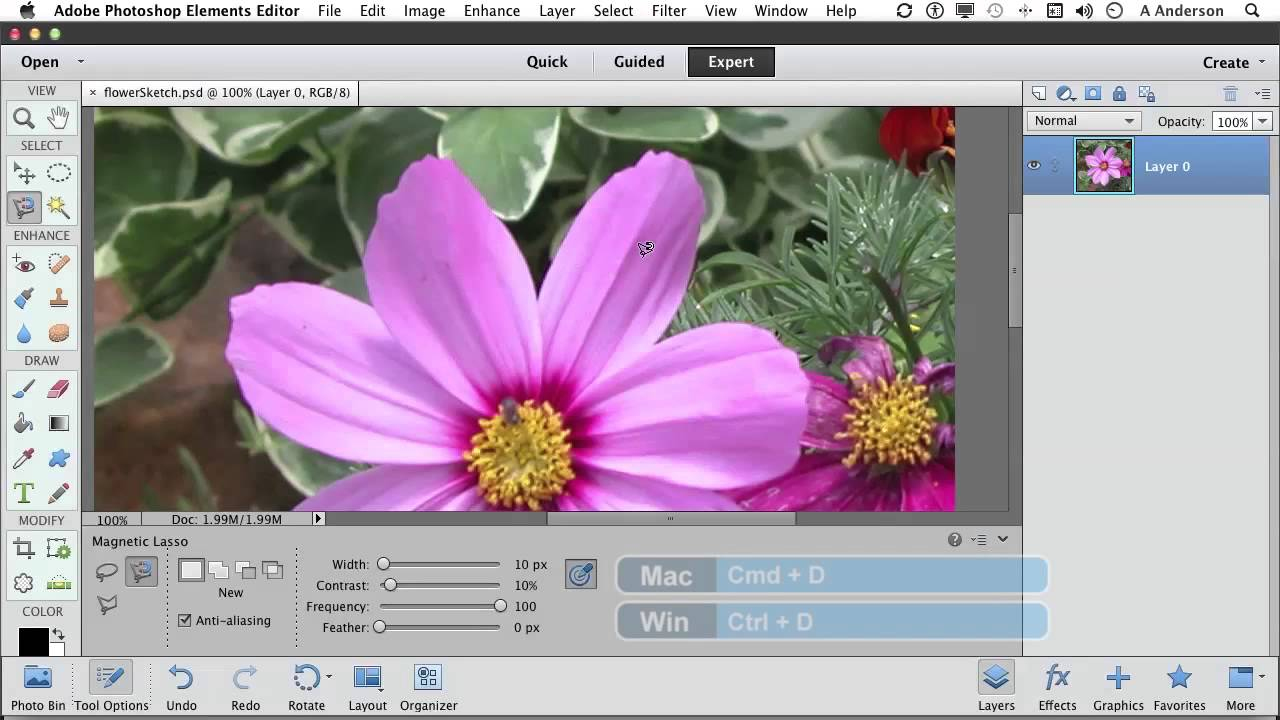 Photoshop elements 11 tutorial the magical magnetic lasso tool photoshop elements 11 tutorial the magical magnetic lasso tool youtube baditri Choice Image