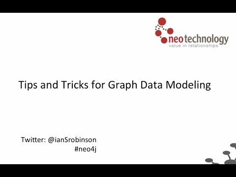 Tips and Tricks for Graph Data Modeling