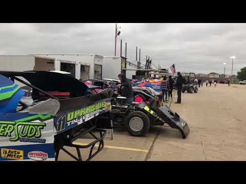 Lucas Oil Speedway in the pits.  1st Annual B Mod Clash of Champions 10-13-18