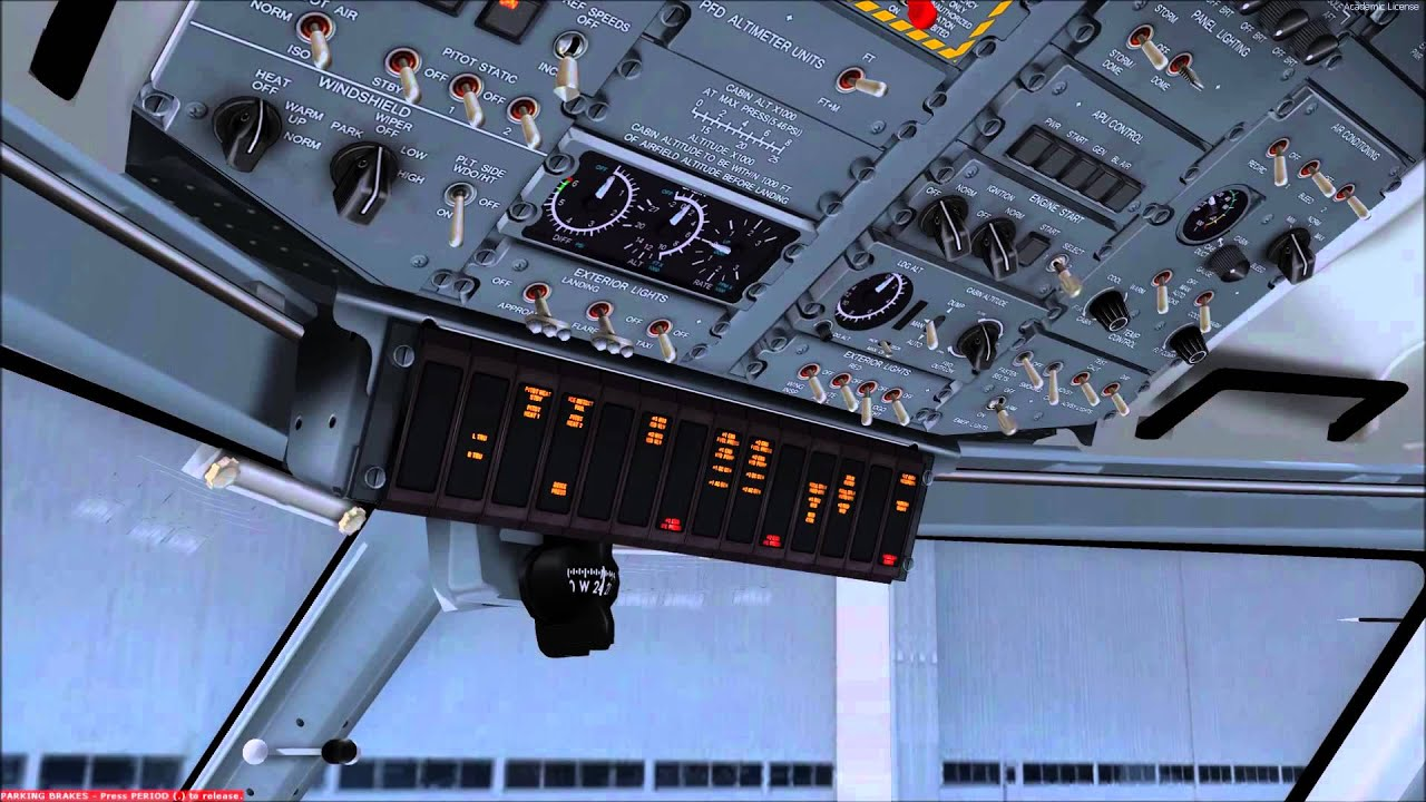 VBEE Q400 Flight Deck Guide 4 : Anti Ice, Air Conditioning