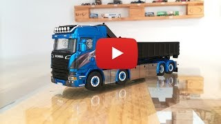 Scania Streamline Highline Blue Shine 01-2195 WSI Modesl