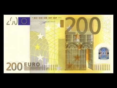 All Euro Banknotes - 5 Euro To 500 Euro In High Definition - HD - 2002 Issue