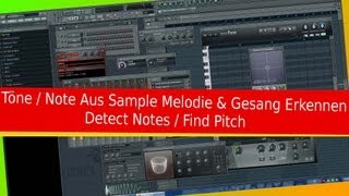 # 50 FL STUDIO FRUITY LOOPS A - Z (TONART MELODIEN NOTEN ERKENNEN FIND DETECT SAMPLE PITCH NOTES TON