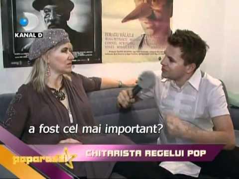 Jennifer Batten Michael Jackson 480p (D Paparazzi, Kanal D, Interviu exclusiv Bucharest oct 2010)