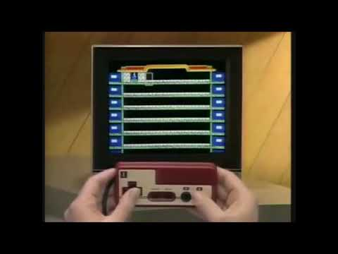 Wrecking Crew Famicom Commercial 1985