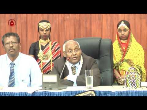 QASABADIHXONGULO TV Discours de son altesse Hanfareh Ali Mirah, sultan d'Awsa lors de la conférence
