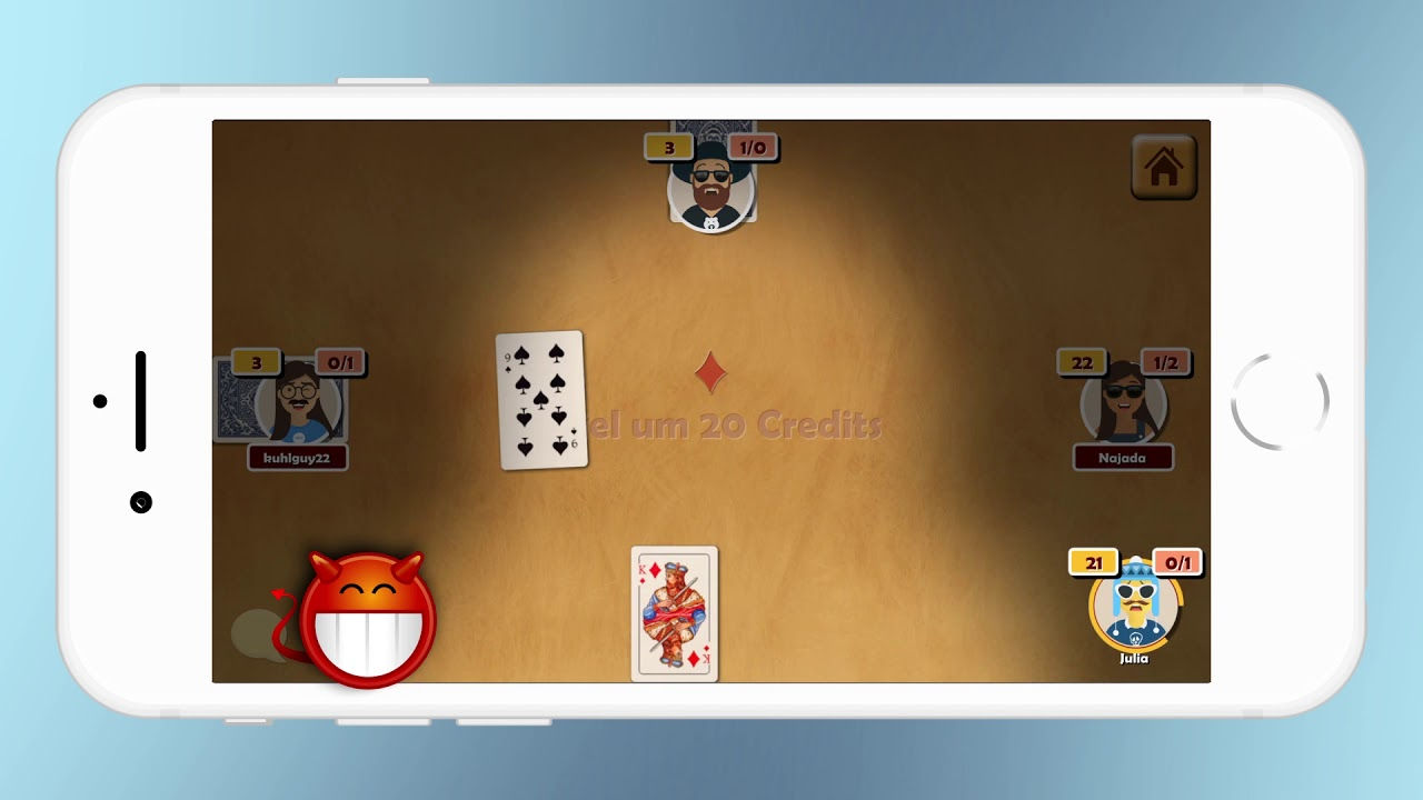 Online Karten Spiel