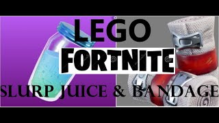AIM Brick Studios| Lego fortnite Bandages & slurp Juice, Tutorial