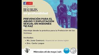 Diálogos en profundidad sobre Prevención para el Abuso y explotación sexual en Misiones de paz (3)