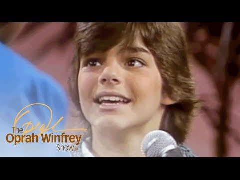 Oprah Interviews 13-Year-Old Ricky Martin | The Oprah Winfrey Show | Oprah Winfrey Network