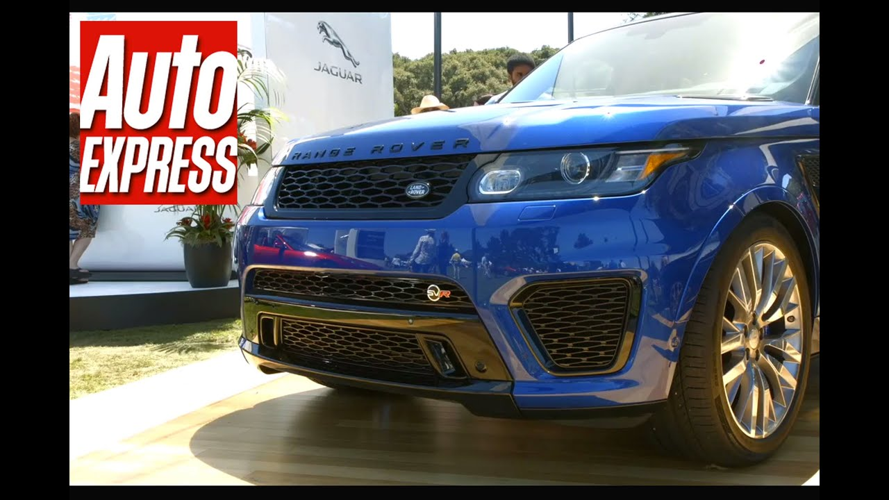 Range Rover Sport SVR - the fastest Range Rover ever - YouTube