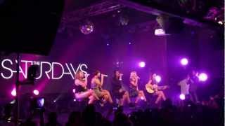 The Saturdays - Issues (Live @ Highline Ballroom, NYC)