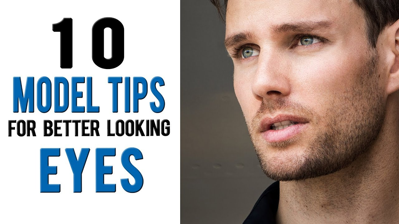 How to have more ATTRACTIVE EYES  12 model tips from Daniel Maritz
