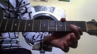 Shaktimaan title track guitar tabs