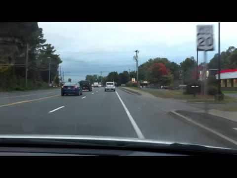 Fall driving in Albany NY