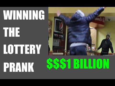 I WON $1 BILLION LOTTERY PRANK IN KFC