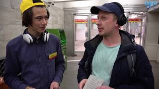 Новосибирцы читают стихи Пушкина в метро