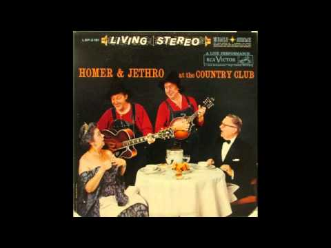 Homer and Jethro-At The Country Club (Full Live Album, Stereo)