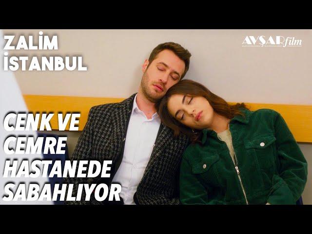 Cenk ve Cemre Hastanede Sabahlıyor - Zalim İstanbul 32. Bölüm
