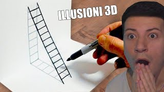 LE ILLUSIONI 3D PIÙ ASSURDE DI SEMPRE