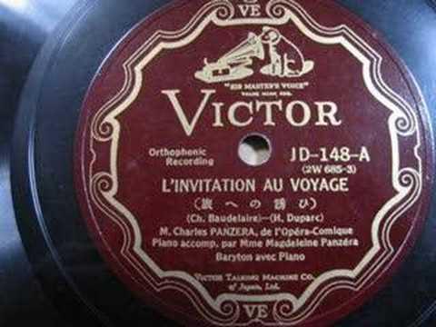 Charles panzera linvitation au voyage 1932 youtube charles panzera linvitation au voyage 1932 stopboris Gallery