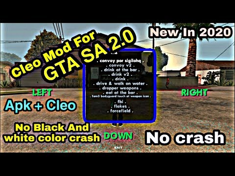 [2020] How To Install GTA San Andreas Cleo V2.00 Apk Without Root For Android 7,8,9,10 | Asif Mahadi