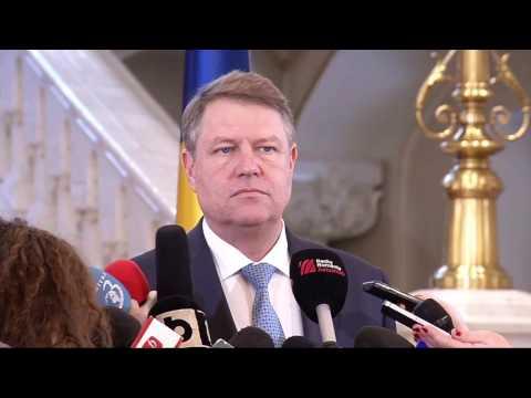 STIRIPESURSE.RO Declaratie Klaus Iohannis dupa intalnirea cu premierul Grindeanu