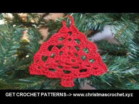 free crochet crochet christmas tree ornaments