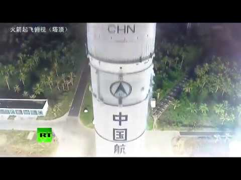 Second launch of China's Long March rocket 5