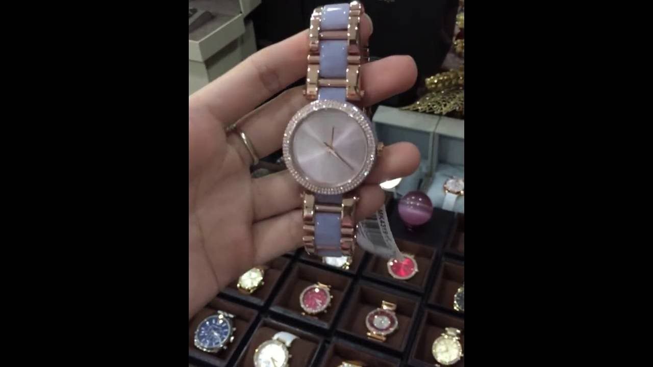 ad28e93281f6 Michael Kors Women s MK4319 Delray Stainless Steel Casual Watch ...