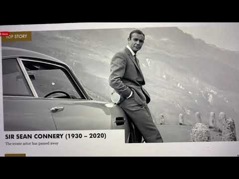 Sean Connery The First James Bond Passes At 90 Years Old, Defined The Style Of The 60s