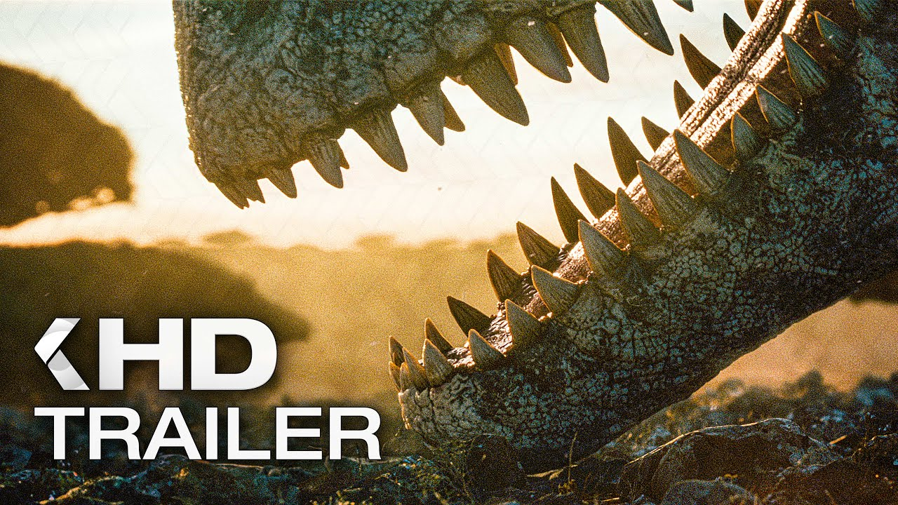Download JURASSIC WORLD 3: Dominion - Extended Look Teaser Trailer (2022)