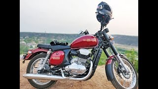 JAWA 42: First Ride Experience Review | Exploring Aravalis