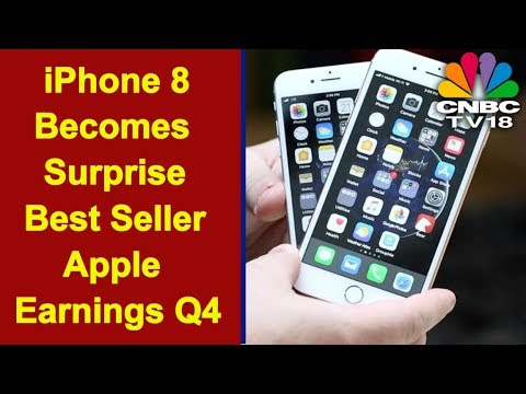 Apple Blows Past Wall Street Expectations   iPhone 8 Becomes a Surprise Best-seller   CNBC TV18