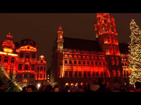 Sound and Light Show 2016 @ Grand Place in Brussels