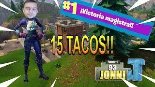 LIMPIANDO TILTED Y 15 KILLS WIN!! - Fortnite Battle Royale - JONNI93