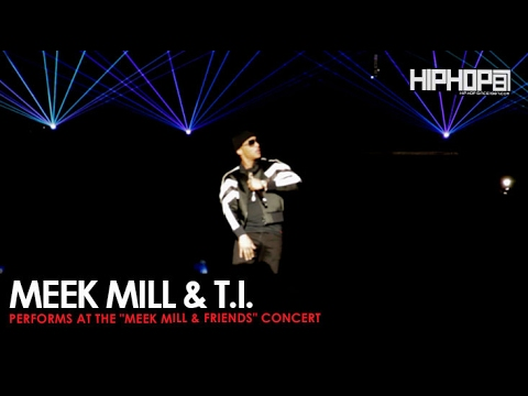 """Meek Mill Performs """"Rose Red (Remix) with T.I. at His Meek Mill and Friends Concert"""