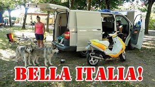 Camping in Italien am Gardasee