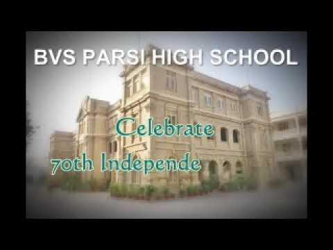 70th independence celebration at BVS Parsi high school 14-08-2017