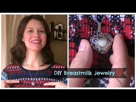 DIY Breastmilk Jewelry Keepsake
