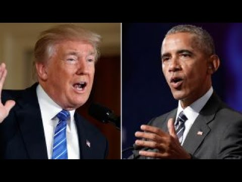 Trump slams Obama