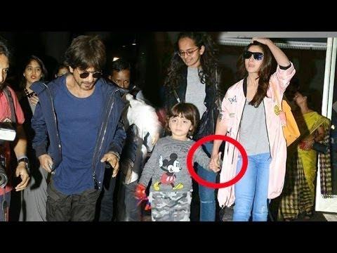 Alia Bhatt's Cuteness Overloaded With Shahrukh Khan's Son Abram | Alia Bhatt & Srk Dear Zindagi