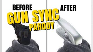 after the csgo sound update gun sync parody skit
