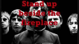 Oasis - Don't look back in anger Lyrics