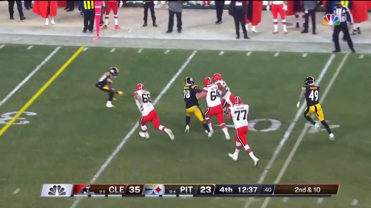 Nick Chubb Ends the Steelers Hype Train