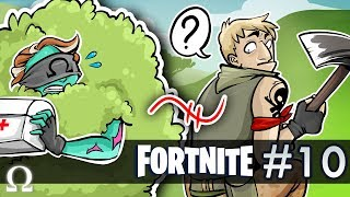 BUSH STRATS & OHM THE BUILDER! | Fortnite #10 Battle Royale Epic Match / New Patch!