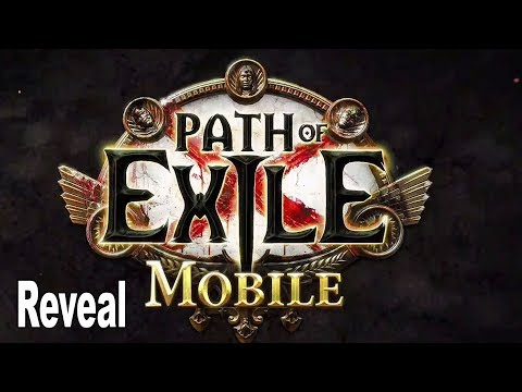Path Of Exile Mobile - Reveal Trailer ExileCon 2019 [HD 1080P]