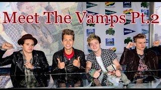 The Fan Diaries - MEET THE VAMPS Pt.2 (Madrid) thumbnail